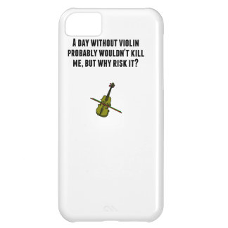 A Day Without Violin iPhone 5C Cases