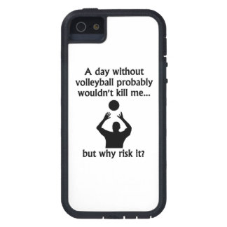 A Day Without Volleyball iPhone 5 Covers