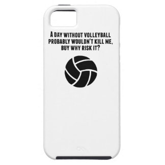 A Day Without Volleyball iPhone 5 Case