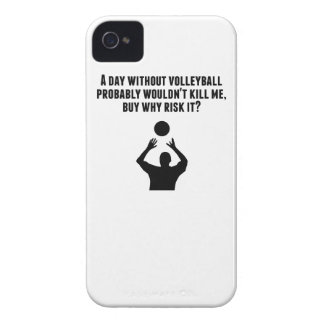 A Day Without Volleyball iPhone 4 Case