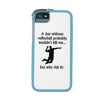 A Day Without Volleyball Case For iPhone 5