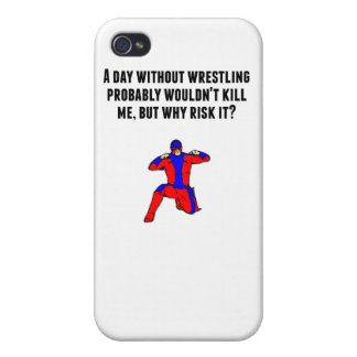 A Day Without Wrestling iPhone 4/4S Cases