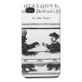 A Delicate Dainty Damnable Dialogue Case For iPhone 4