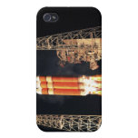 A Delta IV Heavy rocket lifts off iPhone 4 Cover
