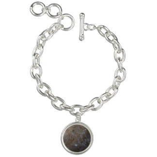 A Detailed Look at Spiral Galaxy M101 Charm Bracelet