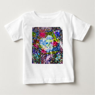 A diamond heart shines on the pond baby T-Shirt