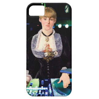 A DJ at the Folies-Bergère iPhone 5 Case