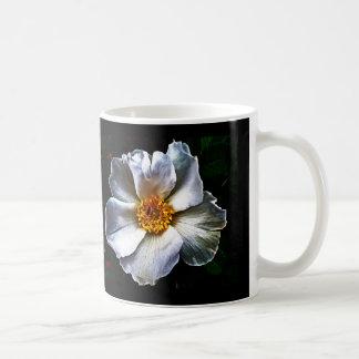 A dog rose flower coffee mug