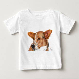 A dog with freckles baby T-Shirt