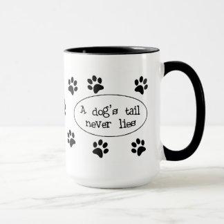 A Dog's Tail Mug