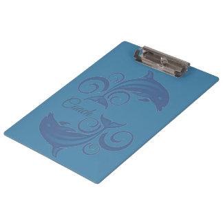 A Dolphin Clipboard