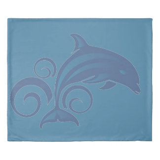 A Dolphin Duvet Cover
