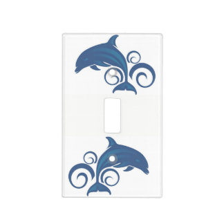 A Dolphin Light Switch Cover