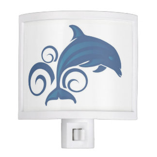 A Dolphin Night Lights
