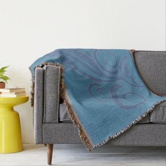 A Dolphin Throw Blanket