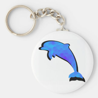 A Dolphins Tale Basic Round Button Keychain