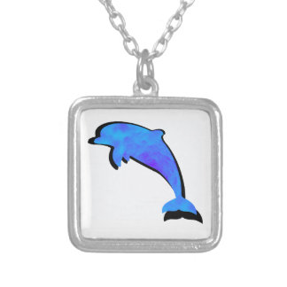 A Dolphins Tale Silver Plated Necklace