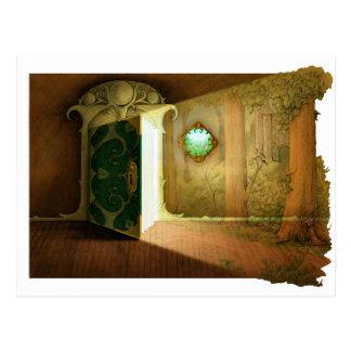 A Door To . . . Postcard