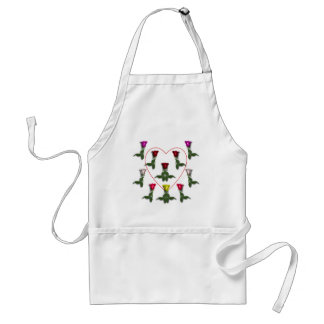 A Dozen Roses and a heart Standard Apron
