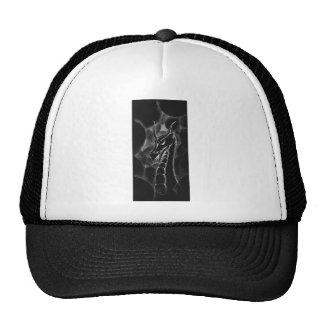 A dragon in smoke (black) trucker hats