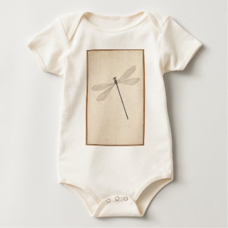 A Dragonfly, by Nicolaas Struyk, early 18th c. Baby Bodysuit