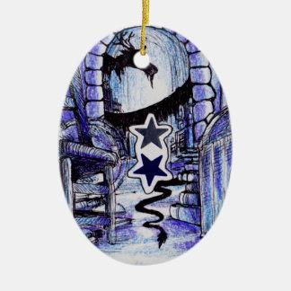 A Dragon's Lair Ceramic Ornament