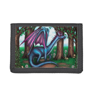 A Dragon's Sanctuary Tri-fold Wallet