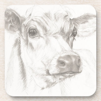 A drawing of a young cow coaster