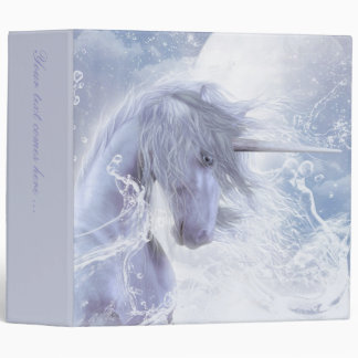 A Dream Of Unicorn 3 Ring Binders