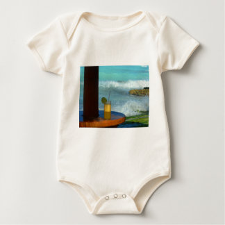A Drink At The Beach Baby Bodysuit