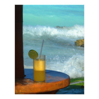 A Drink At The Beach Letterhead