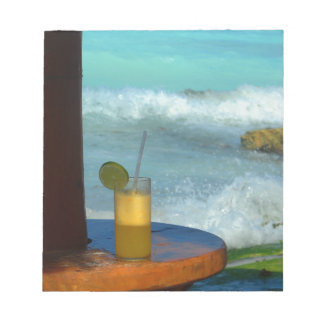 A Drink At The Beach Notepad