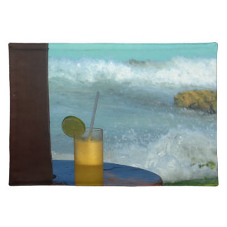 A Drink At The Beach Placemat
