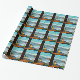 A Drink At The Beach Wrapping Paper