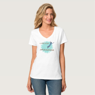 A dynamic Women's t shirt for lucid dreamers.
