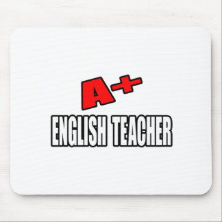 A+ English Teacher Mouse Pad