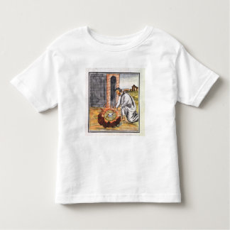 A European engaged in making a reliquary Toddler T-shirt