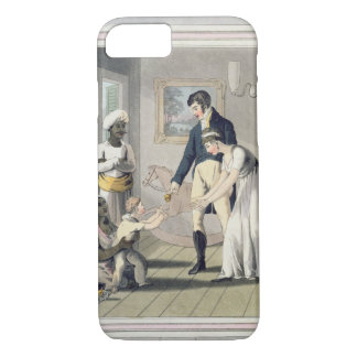 A European Lady and her Family, attended by an Aya iPhone 7 Case