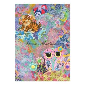A Fabric Wonderland Business Card Templates