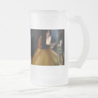 A Faeries Tale Frosted Glass Mug