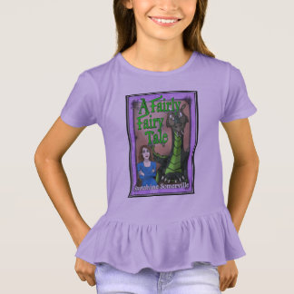 A Fairly Fairy Tale Girl's T-Shirt with Ruffles