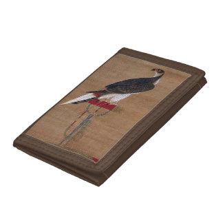 A Falcon - 16th Century Korean Scroll Trifold Wallet