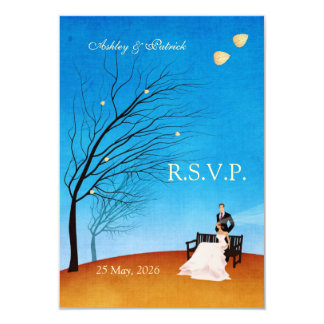 A Fall (in Love) Story RSVP Personalized Invite