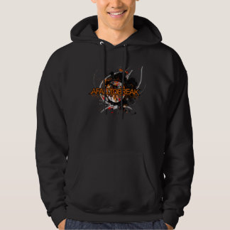 A Fall To Break Logo with background design Hoodie