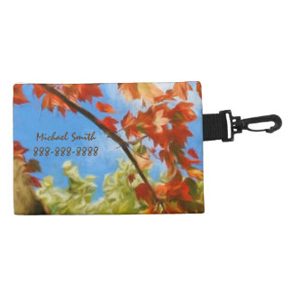 A Fall Tree and Blue Sky Accessory Bags