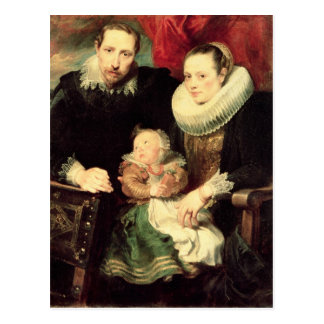 A Family Portrait, c.1618-21 Postcard