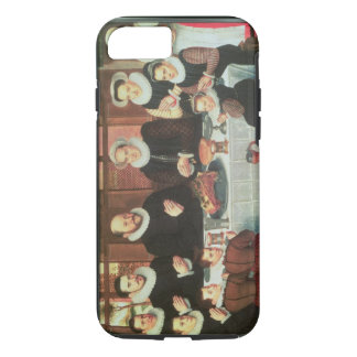 A Family Saying Grace Before the Meal, 1585 (oil o iPhone 7 Case