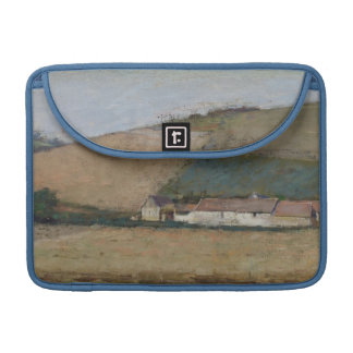 A Farm Among Hills, Giverny, c.1887 Sleeves For MacBook Pro