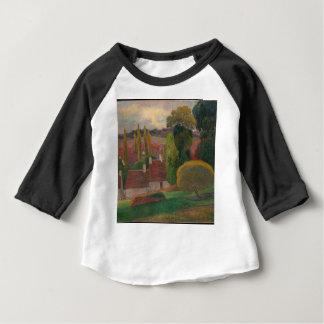 A Farm in Brittany - Paul Gauguin Baby T-Shirt