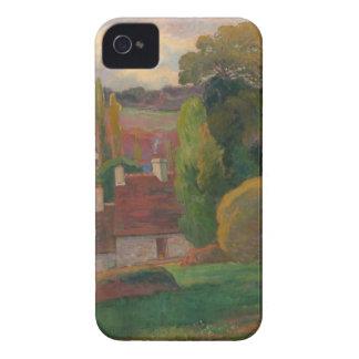 A Farm in Brittany - Paul Gauguin Case-Mate iPhone 4 Cases